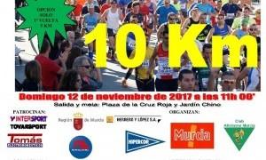 Este domingo arranca la VIII Edición de la carrera 10 kilómetros Ciudad de Murcia Hipercor