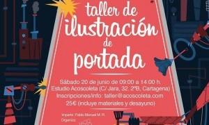 Taller de Ilustracíon de portada en Estudio Acoscoleta