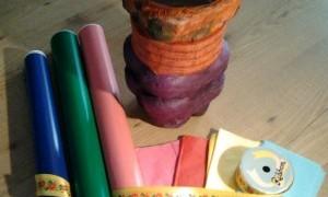 Taller para niños de creación y diseño de una papelera