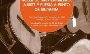 Talleres de guitarra y estampación en la Universidad Popular