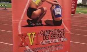 El próximo fin de semana Murcia se convertirá en la sede nacional del Atletismo Cadete