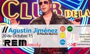 Sorteamos 2 entradas para ver a Agustín Jimenez