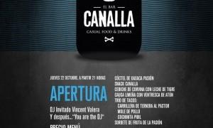 Apertura El Bar Canalla Casual Food & Drinks