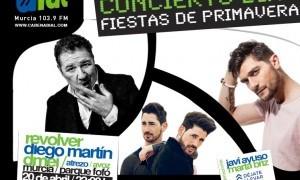 Revólver, Diego Martín, DMEI, Atrezo y Avoz esta noche en Murcia