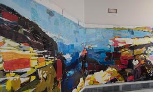Exposición de Manuel Pérez en el Palacio Consistorial de Cartagena