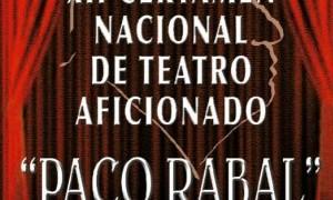 XII Certamen Nacional de Teatro Aficionado Paco Rabal