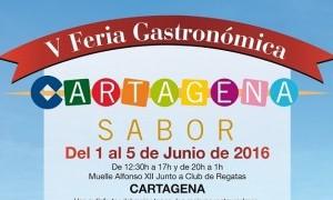 V Feria Gastronómica Cartagena Sabor