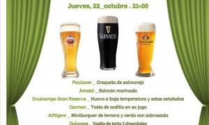Cata maridaje de cervezas en el Palco del Parlamento