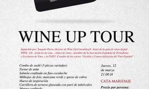 Wine up tour en Tiquismiquis Gastrobar & Sushi