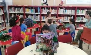El Ayuntamiento de Murcia celebra el 'Día de la Biblioteca' con actividades y talleres para escolares de primaria y secundaria del municipio