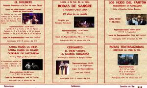 I Festival de Teatro Histórico