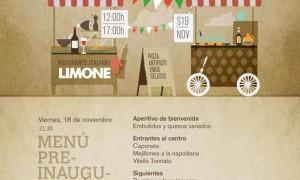 Inauguración Limone Ristorante Italiano