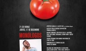 Cena y monólogo de Diego