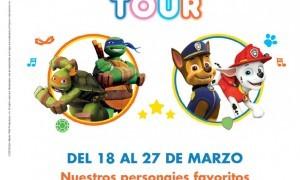 Nickelodeon Tour con la Patrulla Canina en Nueva Condomina