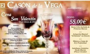 San Valentín en El Casón de la Vega