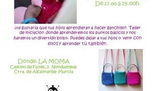 Taller de ganchillo XL para niños en la Moma