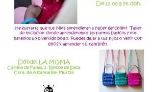 Taller de ganchillo para niños en la Moma