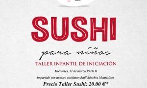 Iniciación infantil al Sushi en Tiquismiquis