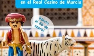 El Real Casino de Murcia acoge una exposición exclusiva de Playmobil