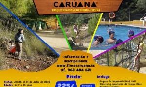 Campamento de verano en Finca Caruana