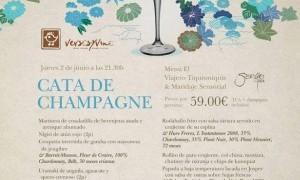 Cena cata de Champagne en Tiquismiquis