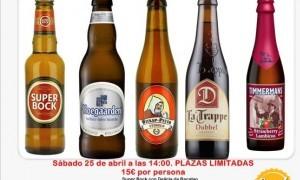 Cata de cervezas internacionales en Grand Place