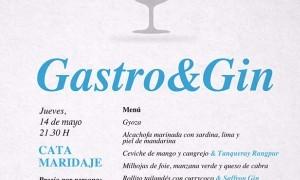 Gastro&Gin en Tiquismiquis Gastrobar & Sushi