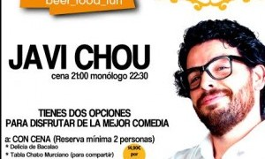 Cena + Monólogo de Javi Chou en Murcia