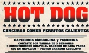 I Concurso de comer perritos calientes de La Tejera