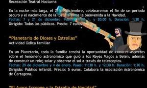 Planetario Dioses y estrellas en La Muralla Púnica