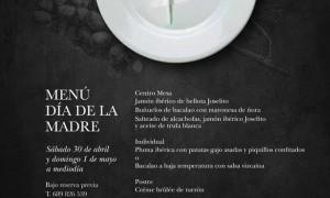 Menú día de la madre en El Romea by Tiquismiquis 2016