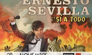Presentación nuevo espectáculo de Ernesto Sevilla: