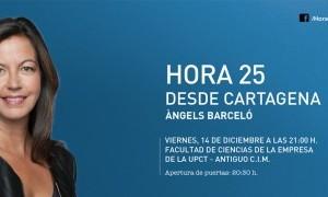 Hora 25 con Àngels Barceló en Cartagena