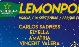 Carlos Sadness y Elyella en el Lemon Pop