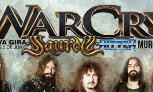 Warcry, Saurom e Hitten en Murcia el 2 de junio