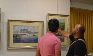 Exposición colectiva Acuarelas y Acrílicos