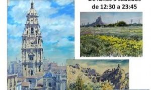 Exposición de Acuarelas de Miguel Torralba en Vox Populi