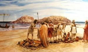 Exposición sobre Iberia y Fenicia de Juan Navarro