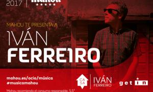 Iván Ferreiro el sábado en Murcia