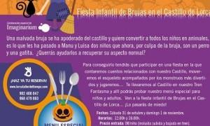 Fiesta infantil de Brujas en el Castillo de Lorca 2015