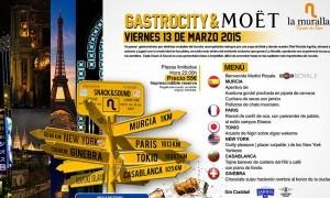 Gastrocity & Moët en La Muralla Rincón de Pepe