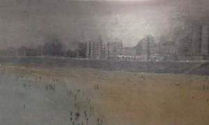 Exposición de pintura de Salud Ruiz en Torre de Zoco