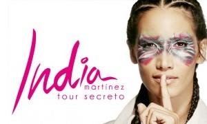 India Martínez el 11 de Agosto en Los Alcázares