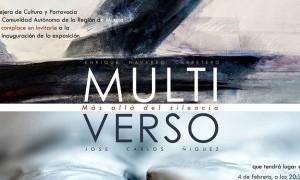 Exposición Multiverso en el Museo de Bellas Artes de Murcia
