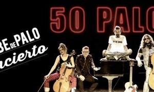 Jarabe de Palo en Murcia Gira 50 palos