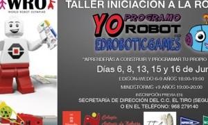 Talleres de Robótica gratuitos en El Tiro