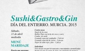 Menú Día del entierro 2015 en Tiquismiquis Gastrobar & Sushi