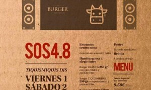 Menu especial El Burger by Tiquismiquis SOS4.8