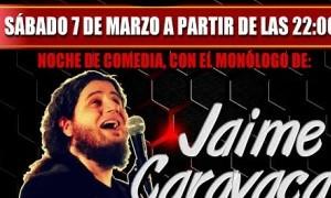 Monólogo de Jaime Caravaca en ''Copalia''