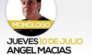 Monólogo Angel Macias en Cafetería Oasis_